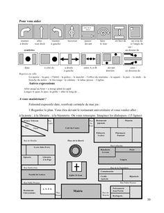36 best french les endroits en ville les prepositions images in 2016 prepositions french. Black Bedroom Furniture Sets. Home Design Ideas