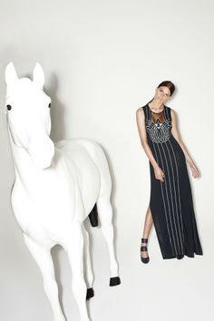 THE NEXT LIFE DRESS from the sass & bide KICKY SAINTS pre-fall 14 collection!