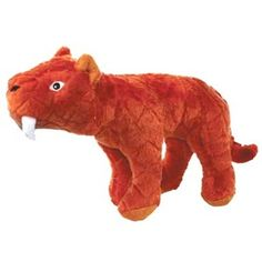 Mighty Toy Arctic Sabertooth Tiger - Stan - Arctic (Dogs over 20Lbs) - VIP Products