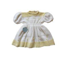VINTAGE 40/50's / enfant / robe / tricotée par Prettytidyvintage