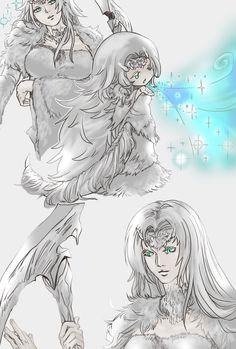 Crossbreed Priscilla,DS персонажи,Dark Souls,фэндомы