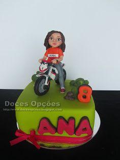 Doces Opções: A Ana foi de moto à festa do seu 8º aniversário