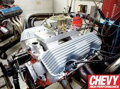 Chevy 348 Big Block Engine Restoration - Chevy High Performance ...