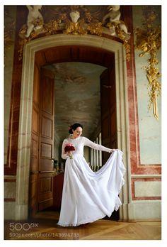 Bride dress by MiglRadvilait