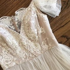 Dreaming of lace  @theiacouture you have done it again. Loving our new gown Harper  via @fabulousfrocksofatlanta . . . #birminghambride #alabamaweddings #villagebridalhomewood #theiacouture #bridalgown #weddingdress