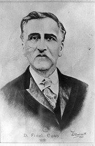Fidel Cano Gutiérrez, fundó el periódico El Espectador en 1887 en la ciudad de Medellín