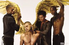 Photography: François Rousseau | Icarus | Stylist: Sam Jaradeh | Model: Chad White
