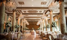 Chicago Wedding Venue: Gold Coast Room at the Drake Hotel Chicago