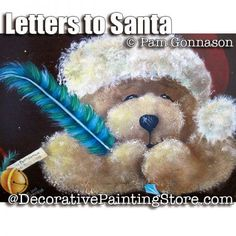 Letter to Santa Bear ePattern - Pam Gonnason - PDF DOWNLOAD
