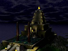 Seven wonders of the ancient world ~ The Alexandria lighthouse
