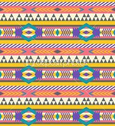 Seamless geometric aztec pattern #2 — Stock Vector #11779658
