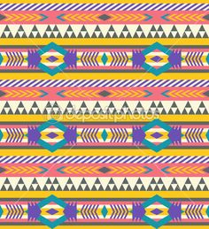 pin aztec colorful seamless - photo #34