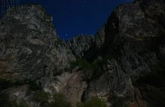 #serbia Kanjon Jerme, noću
