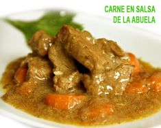 Best Mexican Recipes, Ethnic Recipes, Guisado, Chilean Recipes, My Favorite Food, Favorite Recipes, Dominican Food, Beef Stew Meat, Salty Foods
