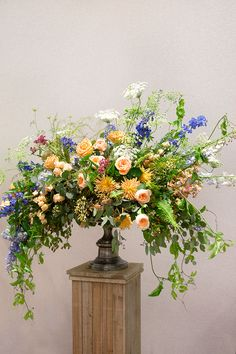 1920s inspired floral arrangement - influenced by Constance Spry by Amanda Randell
