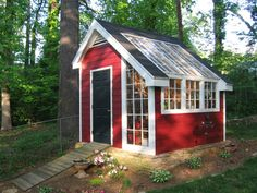 maybe i could double the length and have half greenhouse half shed garden pinterest lawn equipment lawn and backyard - Garden Sheds With Greenhouse