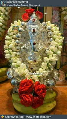 Wish you all my hearty Friends A Happy Vinayaka Chaturthi Shri Ganesh Images, Hanuman Images, Ganesha Pictures, Festival Decorations, Flower Decorations, Ganesh Lord, Jai Ganesh, Lord Shiva, Ganesha Rangoli