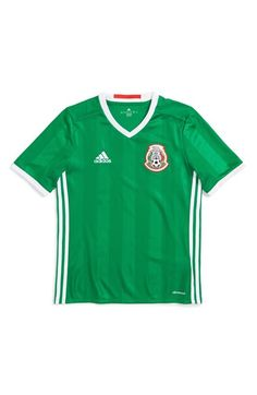 adidas 'Mexico - Home' Replica Soccer Jersey (Little Boys & Big Boys) available at #Nordstrom
