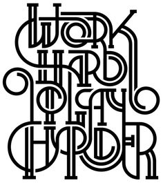 Assorted Typography on Behance