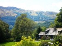 Benvane Cottage, Strathyre, Perthshire, Scotland. Pet Friendly. Accepts Dogs & Small Pets.