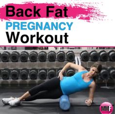 The Back gets so yuk during pregnancy, but if you work it with pregnancy exercises like this, it can be actually be toned. This Back Fat Pregnancy Workout is great! Lots of great pregnancy diet and workout tips in this blog.  http://michellemariefit.publishpath.com/the-back-fat-pregnancy-workout