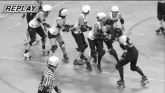You Should Be Watching More Roller Derby Footage - this is bad ass and I will learn to do it.