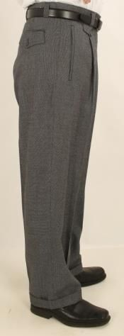 Pleated creased Pants Gray Mens Wide Leg Trousers, Peg Leg Trousers, Mens Slacks, Mens Leather Pants, Wide Leg Pants, Men's Pants, 1930s Fashion, Mens Fashion, Fashion Outfits