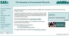 Samples of Anonymised Records (Office for National Statistics). The Samples of Anonymised Records consist of extracts from Census records which are designed to enable researchers to carry out detailed analyses using 2001 Census data for individuals or households.