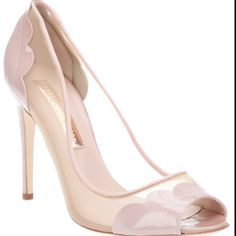 I love these!! Nude Heels, Stiletto Heels, Peep Toe, Shoes, Fashion, Moda, Zapatos, Shoes Outlet, Fashion Styles