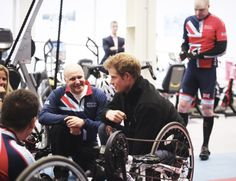 HRH Prince Harry with Head of sports recovery Martin Colclough at the team selection launch British Armed Forces, Invictus Games, First Game, Prince Harry, Disability, Great Britain, Recovery, Brave, The Selection