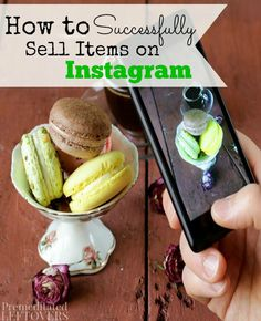 How to Sell Items on Instagram. Do you want to turn your clutter into cash? If so, selling items on Instagram might be for you. Check out how to clear clutter from your home, organize your house, and successfully sell items on Instagram with this money making idea.