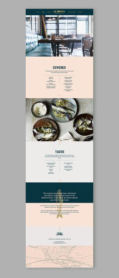 La Dorada Restaurant Web Design by Fivestar Branding Agency – Design and Branding Agency & Inspiration Gallery Web Design Trends, Design Web, Great Logo Design, Banner Web Design, Layout Design, Layout Web, Design De Configuration, Minimal Web Design, Website Design Layout