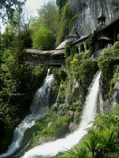 Interlaken, Switzerland.  I'd like to add such details to my gargen RR