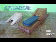 AFILADOR DE FORMON Como Hacerlo (FACILITO) En MADERA - luis Lovon - YouTube