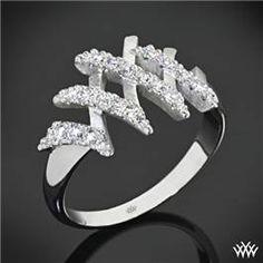 """Whiteflash """"Signature"""" Diamond Right Hand Ring"""