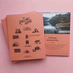 The Rolling Home Journal  / WILDHOOD store Vw Bus, Volkswagen, Inspirational Books, Tricks, Journal, Poster, Rolls, Grad, Instagram Posts