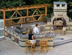 "Can I buy some land, live in a tent, and have this in my ""backyard""? Hehe Outdoor-Pizza-Oven"