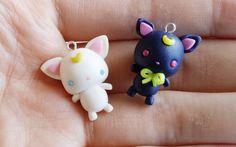 [Sailor Moon Collab] Chibi Luna/Artemis Tutorial ft. Sweet Cute Tamy