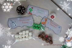 Rentiernasen, Grinch Pillen, Snowman Kisses, Christmas Gifts,