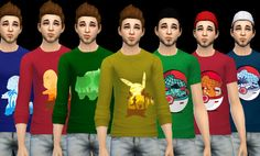 Pokemon tops at Aurimon via Sims 4 Updates