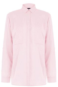 This lightweight shirt is constructed from a soft woven fabric and features a peak collar, button-through front, two breast pockets, tab sleeves and curve hem design. Length of top, from shoulder seam to hem, 71cm approx. Height of model shown: 5ft 10 inches/178cm. Model wears: UK size 10.Fabric:Main: 100.0% Cotton.Wash care:Machine WashProduct code: 02269452 £28.00