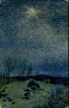 Kunstnerkort Th Kittelsen utg Mittet brukt tidlig 1900-tall