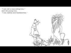 Shel Silverstein: Lafcadio, the Lion Who Shot Back - YouTube