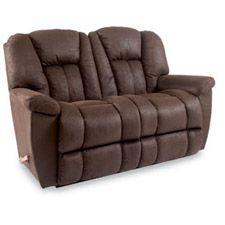 Lazyboy\'s Maverick Reclinaway sofa, loveseat, and recliner. One day ...