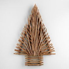 One of my favorite discoveries at WorldMarket.com: Glittered Twig  Tree Wall Decor
