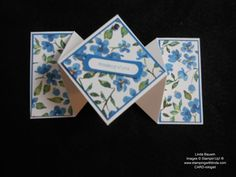 Diamond Fold Card Biggest Sale of the Year Jan. 6-March 31, 2015 Linda Bauwin – Your CARD-iologist  - Helping you create cards from the heart.  www.stampingwithlinda.com  Visit my YouTube Channel Linda Bauwin & check out my Stamp of the Month Kits