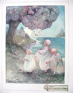 1915 illustration from The Sugar Plum Tree by Eugene Field - illustration by Ann Anderson