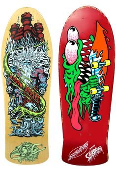 Santa Cruz Skate Art by Jim & Jimbo Phillips - Sublime99