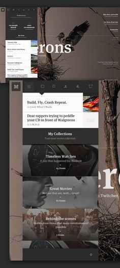 Medium: Collection Concept by Leigh Taylor, via Behance