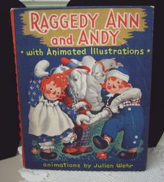 Vintage Raggedy Ann and Andy with Animated Illustrations by aquarius247